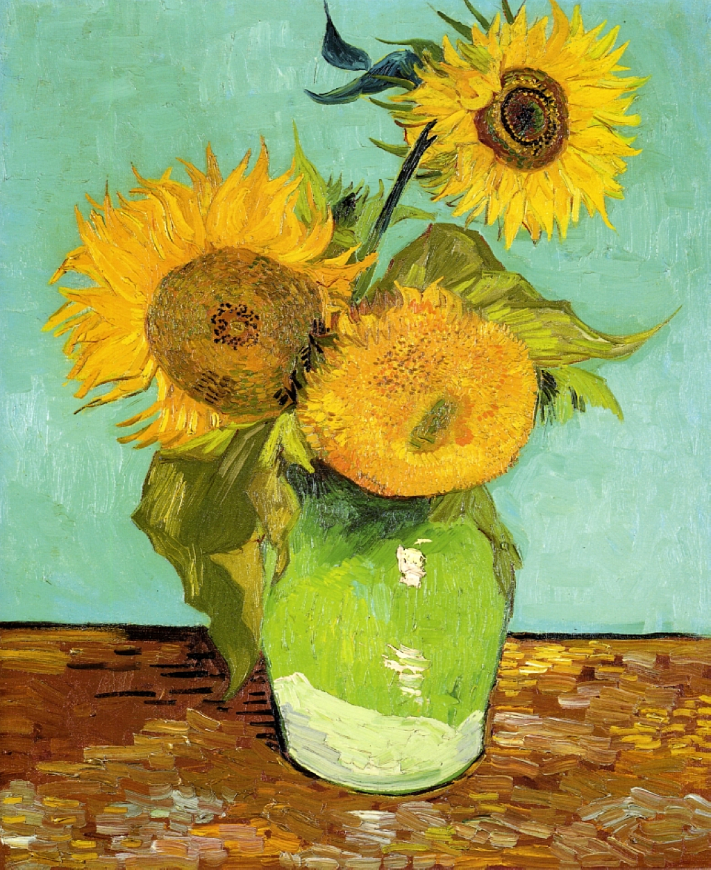 Matrimonio Girasoli Van Gogh : Vincent van gogh sunflowers series la serie dei