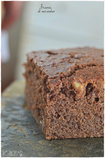 Brownie al microondas
