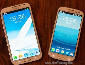 galaxy s iii vs galaxy note II, bagusan mana samsung S 3 atau samsung Note 2?, adu handphone android paling canggih spesifikais dna harga lengkap