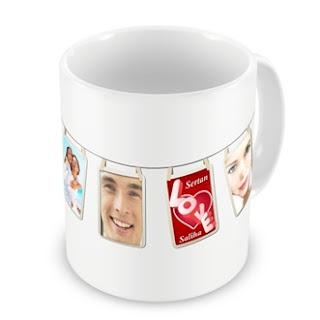 Sevgiliye hediye sihirli kupa bardak