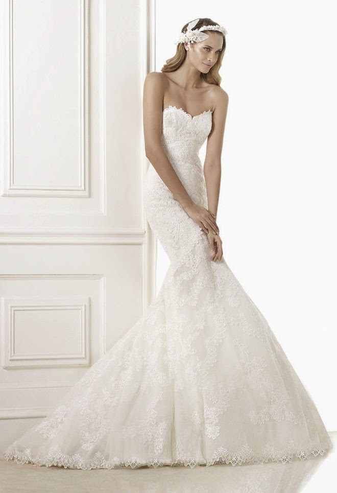 Pronovias 2015 bridal collections part 1 belle the for Pronovias wedding dresses uk