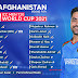 Afghanistan Cricket Team Squad for the World T20 Cup 2021
