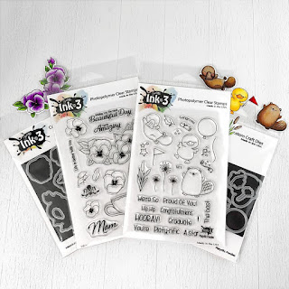 Mega Bundle Platy-rific Pondies & Pansies Stamps & Dies