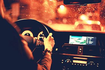 I am driving