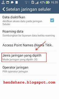 Cara Merubah Sinyal 2G EDGE Menjadi HSPA, H+ atau 3G dan 4G di Android