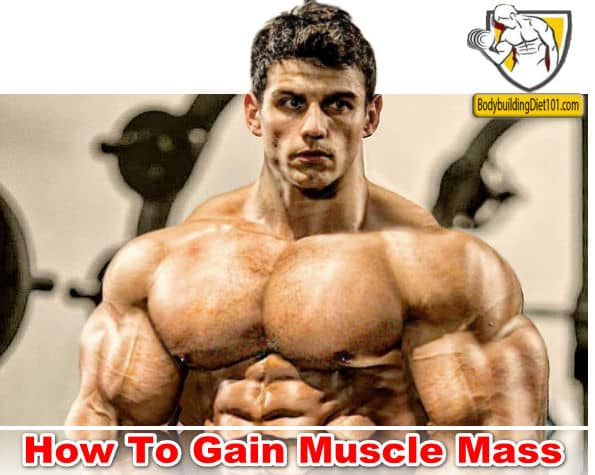 Workout only plays a 30 percent role in gaining muscle mass