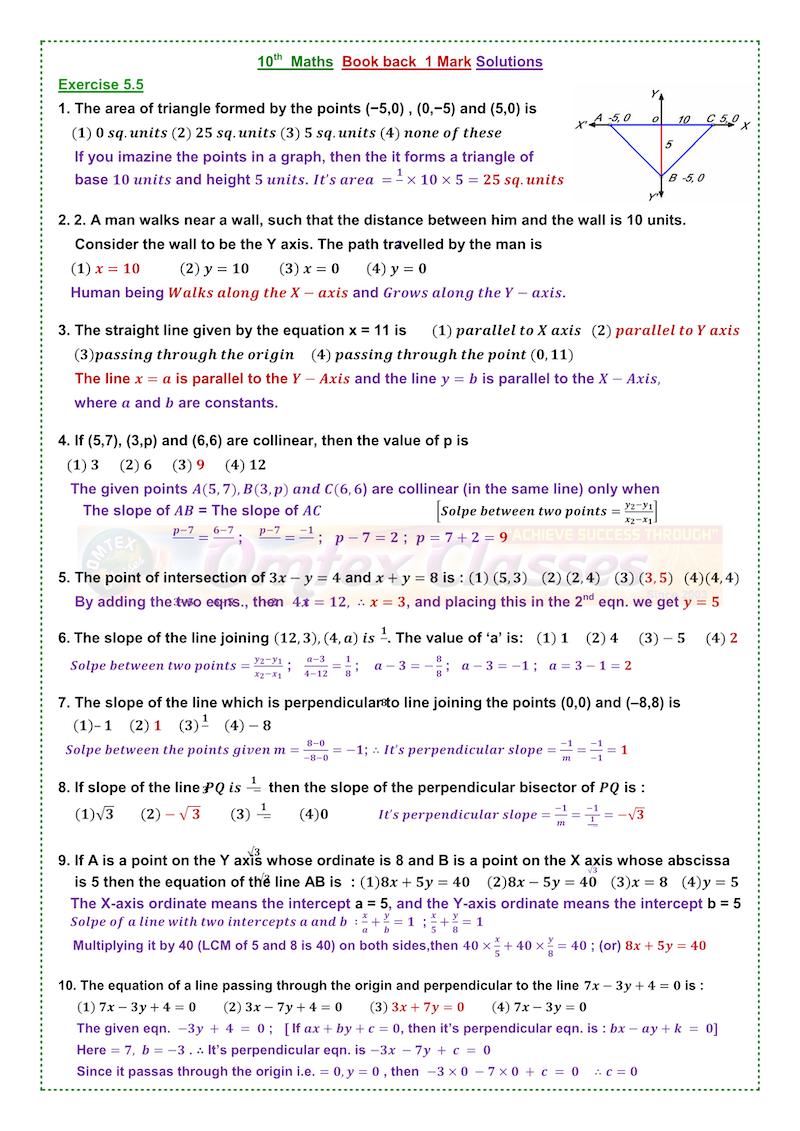 10TH MATHS GUIDE TAMILNADU PDF - Amazon S3