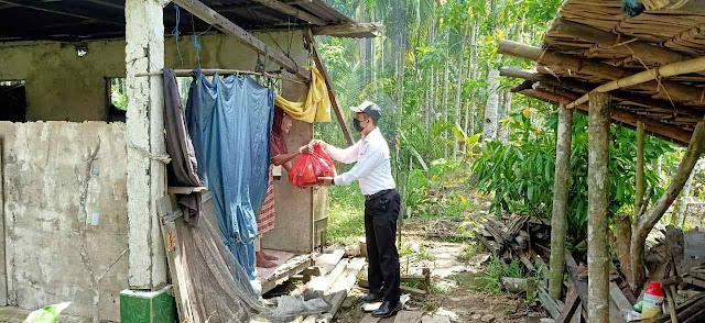1000 Paket Sembako akan Didistribusikan Ditreskrimsus Untuk Warga Terdampak PPKM