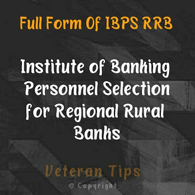 Full form of ibps rrb