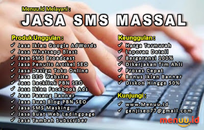Jasa SMS Broadcast Termurah