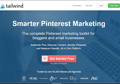 Tailwind is an all-in-one Pinterest tool