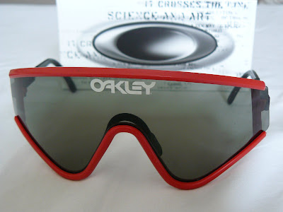 1ecfb50a10f7 Eyeshade Factory Pilot (1984), Red frame with Grey lenses, SKU 03-008