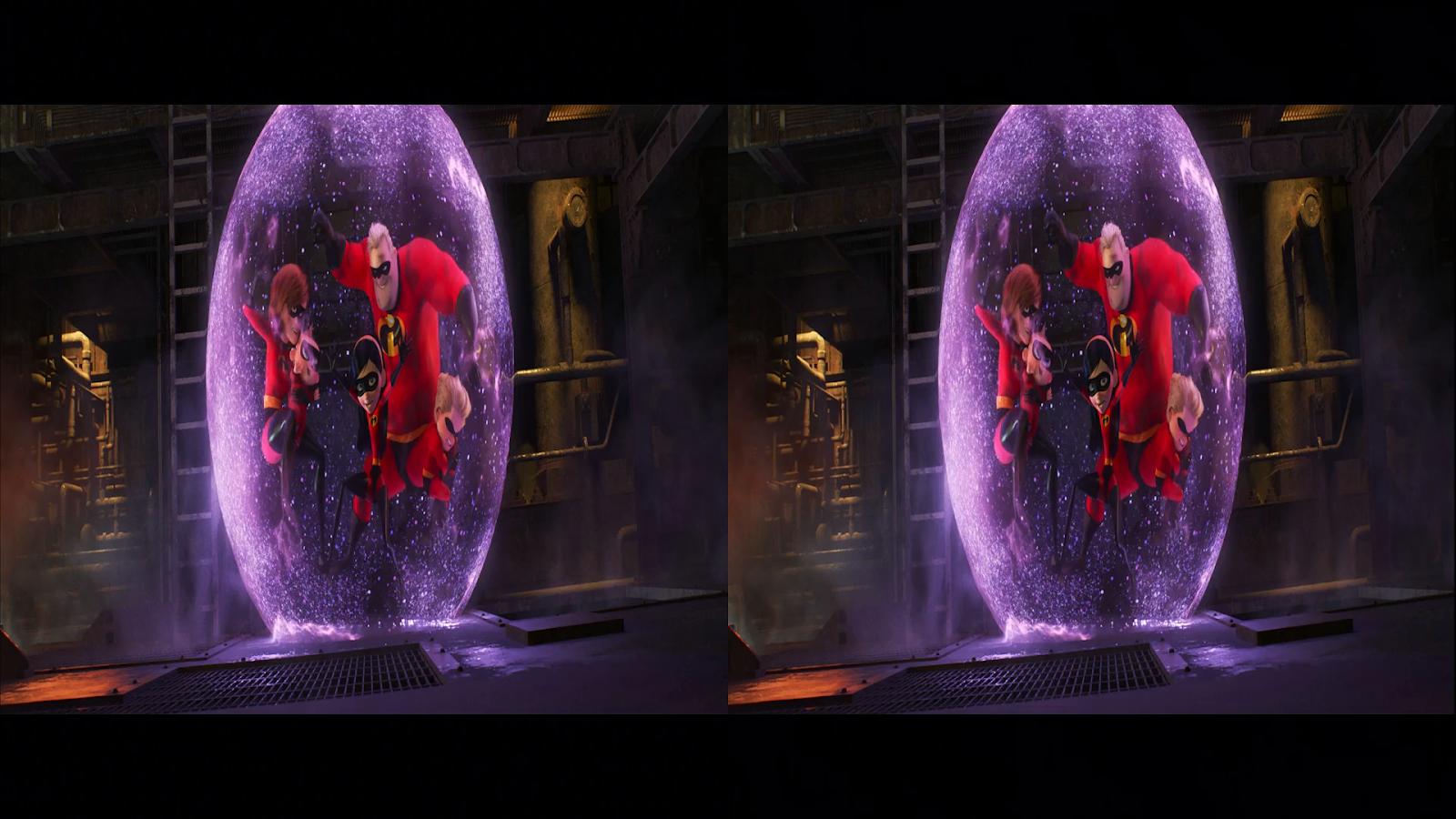 Los Increíbles 2 (2018) 3D SBS Full 1080p Latino-Ingles captura 1