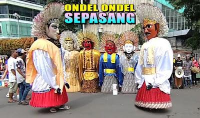 Tari Ondel - Ondel