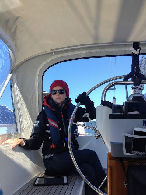 Hallberg-Rassy 37, Helly Hanson, life jacket, sailing