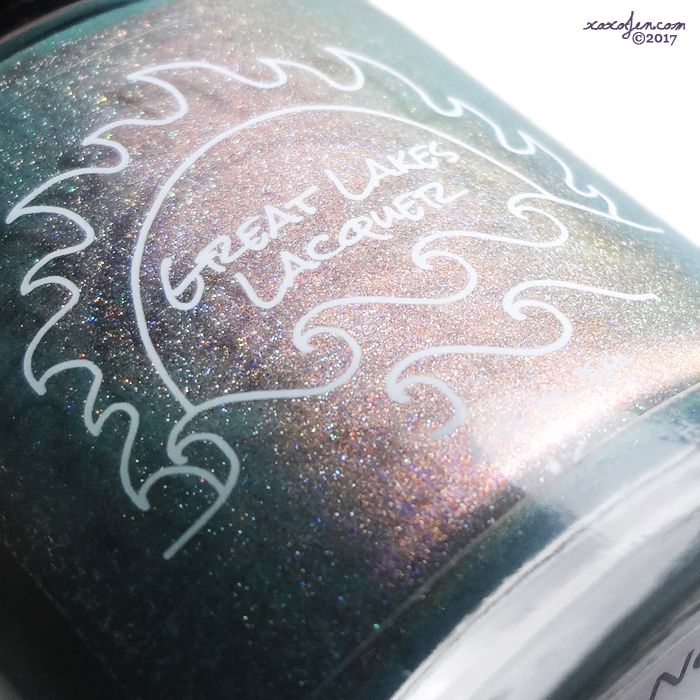 xoxoJen's swatch of Great Lakes Lacquer Words Never Listen