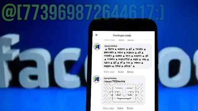 kumpulan kode komentar fb facebook unik dan keren terbaru