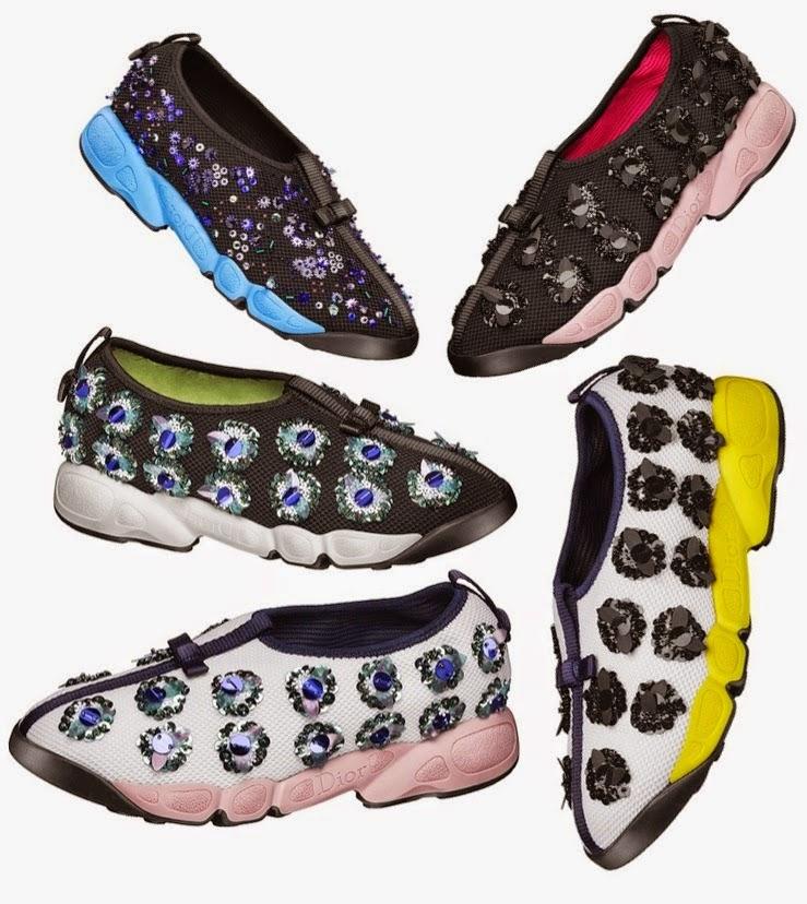 81fe8d85865 ☽May Al Otaibi☾   Dior Fusion sneakers