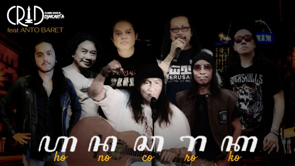 Grup band CRID feat Anto Baret rilis lagu Honocoroko. (Dok. Istimewa)