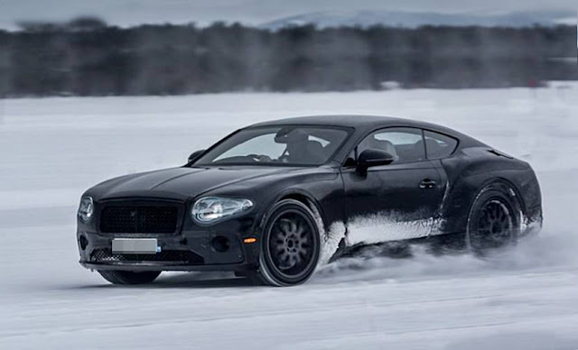 2018 Bentley Continental GT Prototype Drive