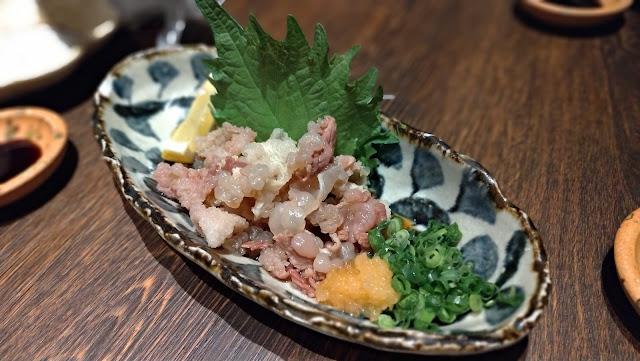鯨のすじぽん 長崎市居酒屋の魚店亜紗 (うおだなあさ)がスーパーおすすめ!