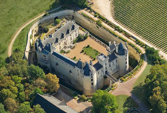 Castelo Château de Brézé