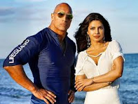 priyanka chopra upcoming movie baywatch with dwayne johnson in 2017,upcoming movie of priyanka chopra baywatch, baywatch poster of priyanka chopra, release date