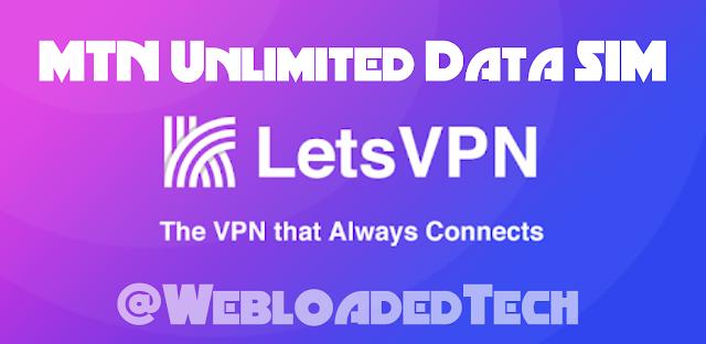 MTN Unlimited Data SIM