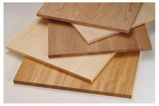bahan kayu solid