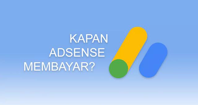 Jadwal Pembayaran Google Adsense