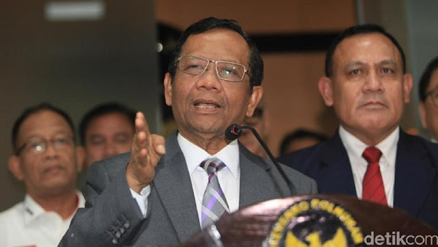 Dugaan Kasus Korupsi Asabri Rp 10 T, Mahfud Akan Panggil Erick dan Sri Mulyani