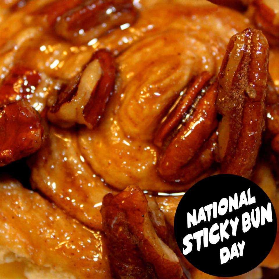 National Sticky Bun Day Wishes Awesome Images, Pictures, Photos, Wallpapers