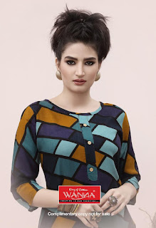 Wanna Navya Rayon kurti Catalog Image With price