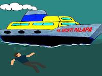 Diduga Depresi Penumpang KM Amukti Palapa Nekat Terjun Kelaut di Perairan Pangkep