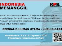 Rekrutmen Komisi Pemberantasan Korupsi (KPK)