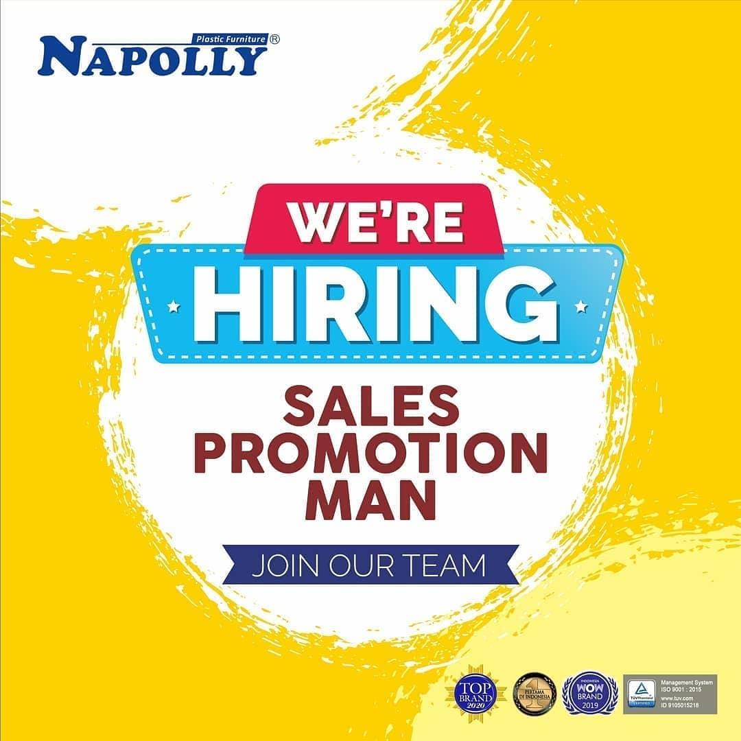 Lowongan Kerja Kudus - Pati Sebagai Sales Promotion di PT Cahaya Murni Central Java (NAPOLLY)
