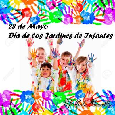 Mi sala amarilla un mensaje en el d a de los jardines de for Canciones de jardin de infantes argentina