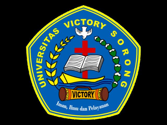 Logo Universitas Victory Sorong Format PNG