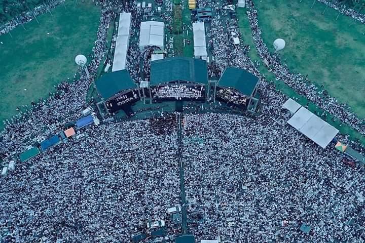 Media Nasional Bungkam, Foto Reuni Akbar 212 Ini Bikin Kubu Sebelah Panik