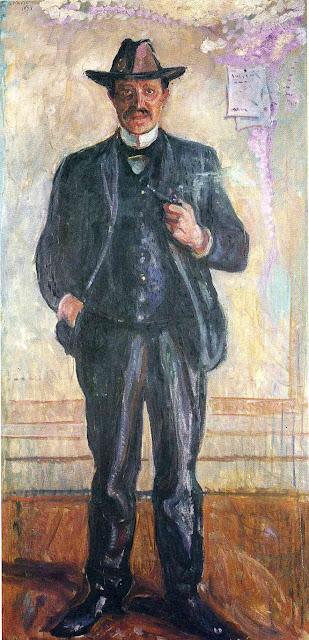 Эдвард Мунк - Торвальд Станг. 1909