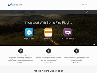 Vantage Wordpress Ecommerce Theme Free Download