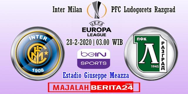 Prediksi Inter Milan vs Ludogorets Razgrad