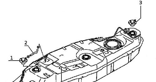 К установке пластикового бака на мицубиси паджеро.