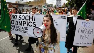 Etnis Circassia tolak Sochi