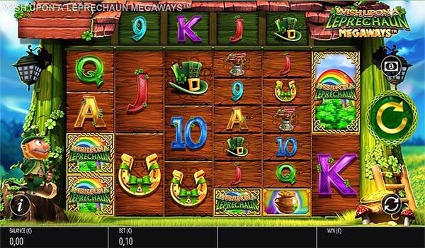 Main Gratis Slot Indonesia - Wish Upon A Leprechaun Megaways (Blueprint Gaming)