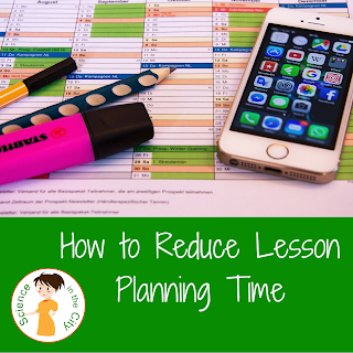 Reduce Lesson Planning Time