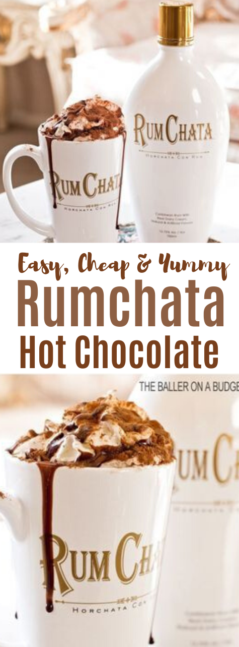 RUMCHATA ADULT HOT COCOA #drink #cocoa #hotcholate #party #easy