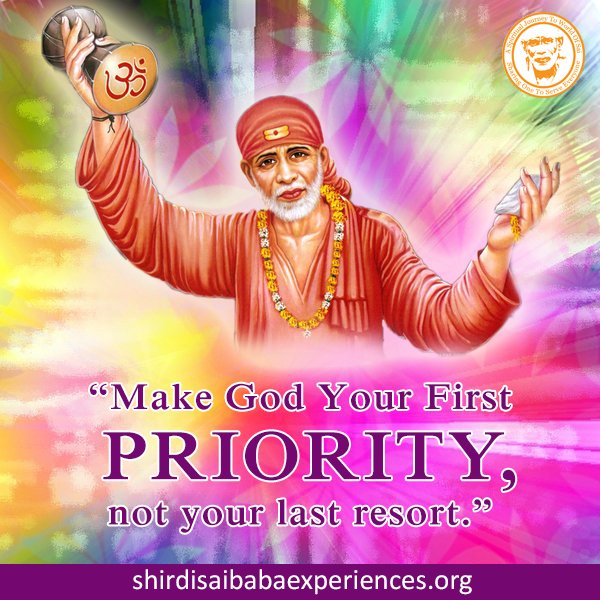 Prayer For My Son - Anonymous Sai Devotee