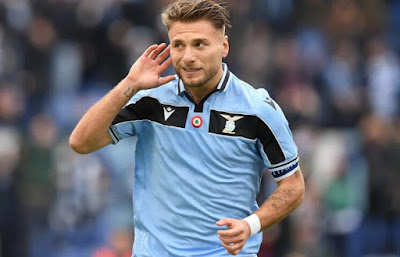 'It's Crazy To Be In Front Of Ronaldo And Messi' - Immobile Speaks As Bags Golden Shoe Awards