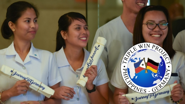 Germany now hiring 550 Filipino nurses; estimated salary of P135,000/month